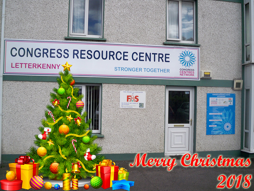 Congress Resource Centre, Letterkenny Christmas 2018